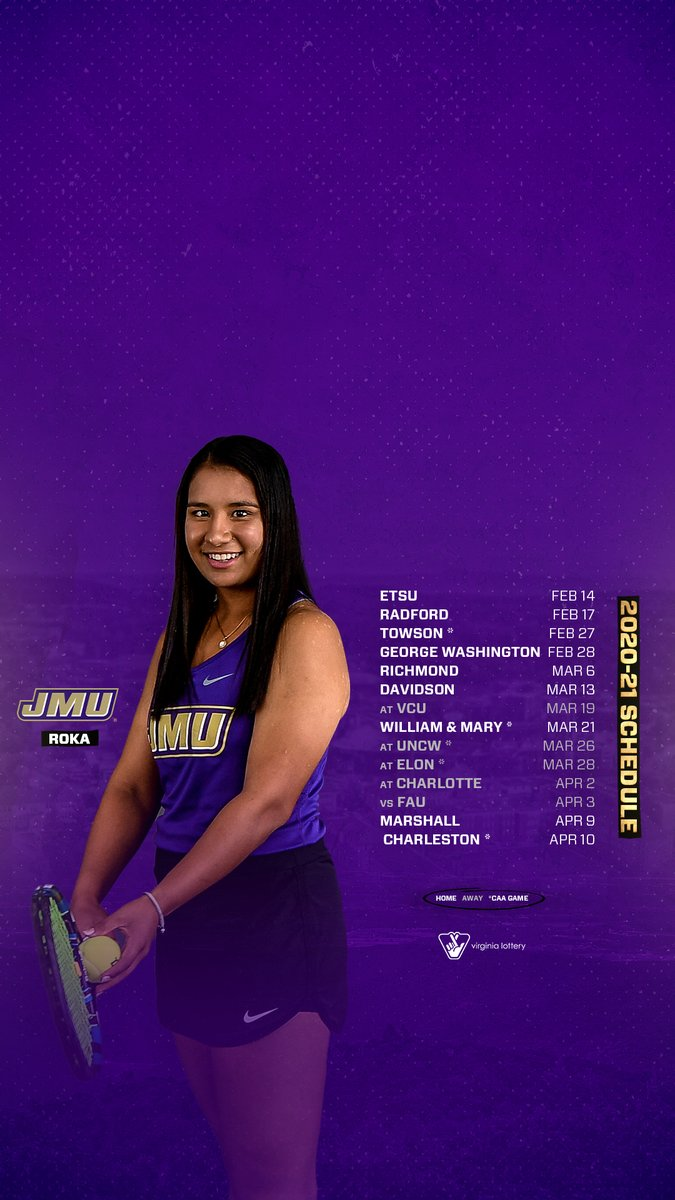The countdown is on!   How about a little #WallpaperWednesday, as we get set for the spring schedule.  #GoDukes 🎾