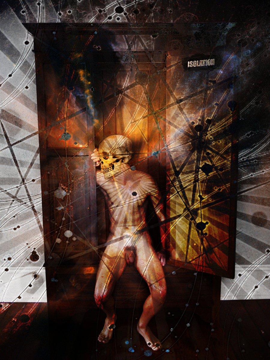 Isolation (The Skull Dancers)   Grey Cross Studios #art #digitalart #contemporaryArt #skulls #skeletons #death #afterlife #surrealism #alternateuniverse #otherworlds #multiverse #parallelworld #scifi #fantasy #fantasyart