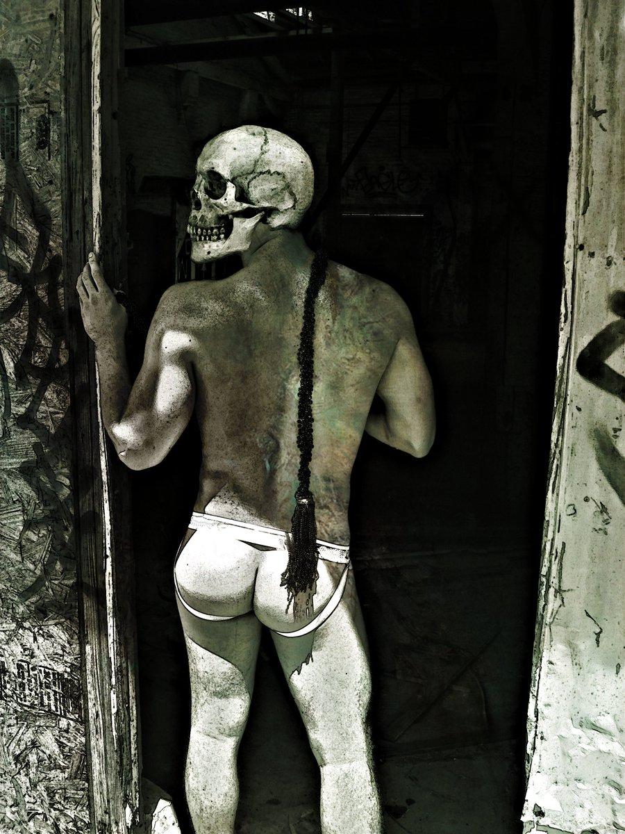 We Find Death in the Oddest of Places (The Skull Dancers)   Grey Cross Studios #art #digitalart #contemporaryArt #skulls #skeletons #death #afterlife #surrealism #alternateuniverse #otherworlds #multiverse #parallelworld #scifi #fantasy #fantasyart