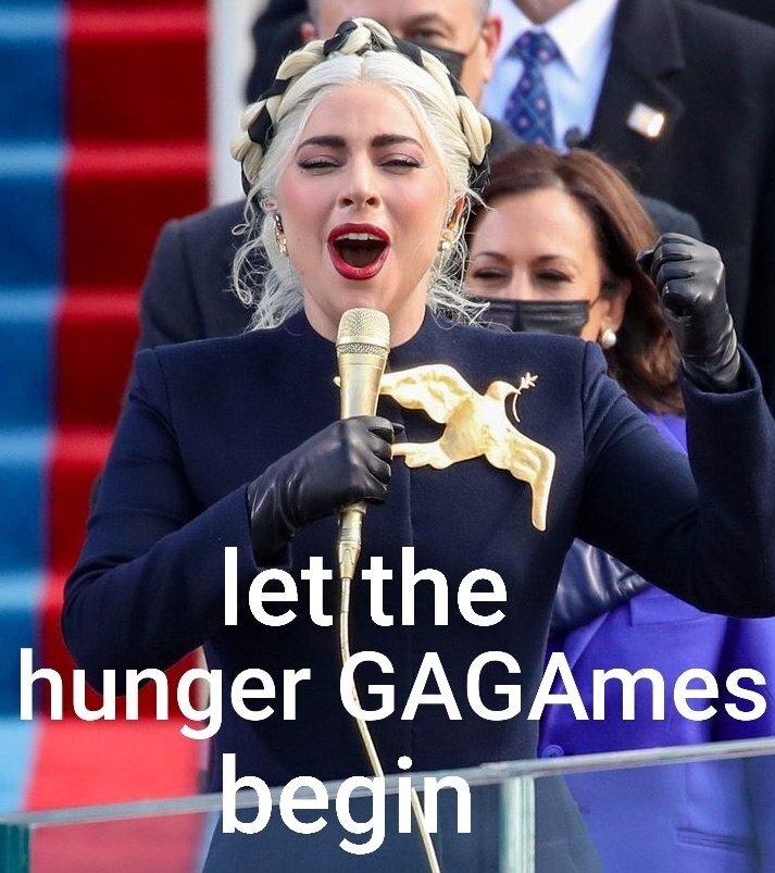 #InaugurationDay #Inauguration2021 #BidenHarrisInauguration #Inauguration #LadyGaga #HungerGames