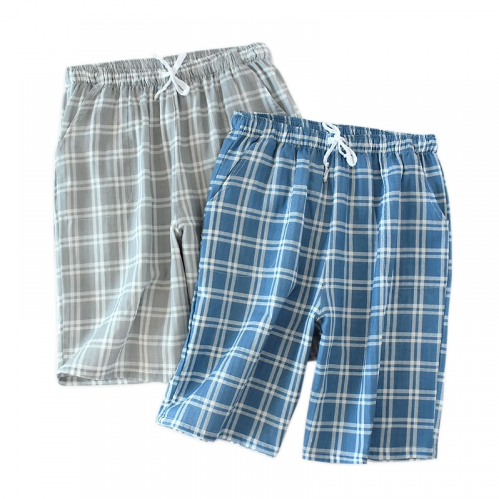 Men's Plaid Sleep Shorts Get it today at  #sale #girls