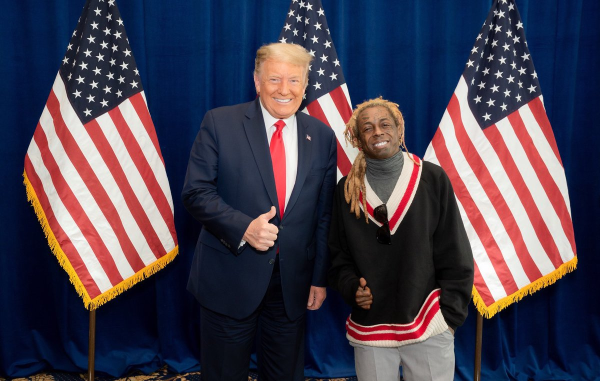 Lil Wayne's lawyer says the rapper's support of Trump wasn't to get a pardon: https://t.co/eCfNzLPA15 https://t.co/8so5zBc0ZB
