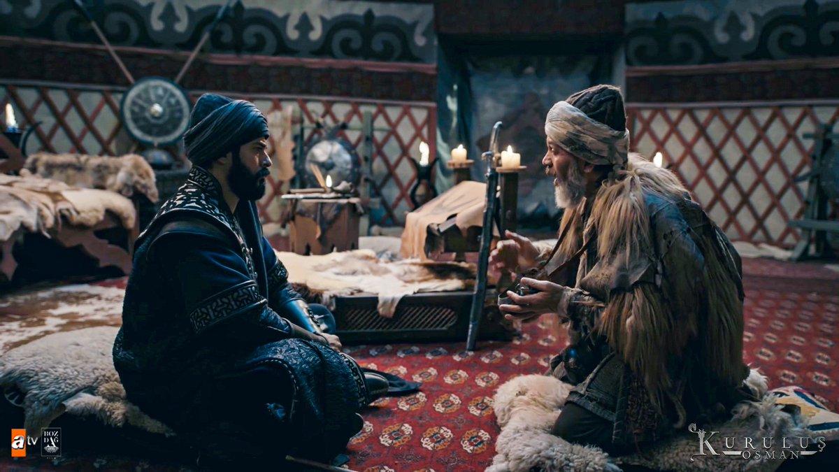 """""""Senin neslin de cümle cihanda Osmanlılar diye anılır…"""" #KumralAbdal   #KuruluşOsman  @bozdagfilm @atvcomtr"""