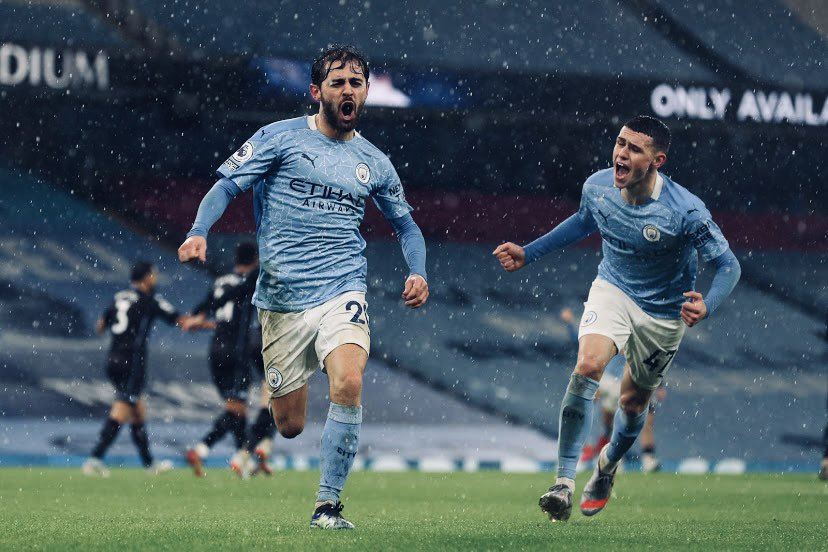 Replying to @PhilFoden: Really tough game but the team came together, worked hard and got a great result!! 💙