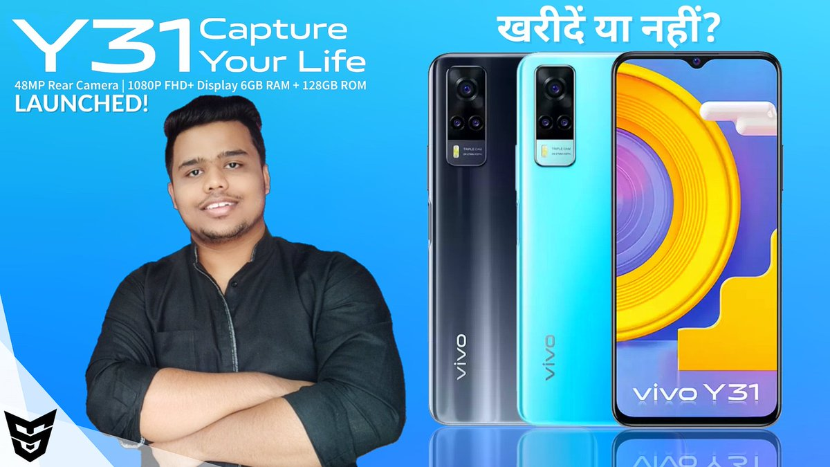 Vivo Y31 Launched खरीदें या नहीं? Official Specifications | Price & Availability | SufiyanTechnology Link: https://t.co/70Tad4S3Dn  #Vivo #VivoY31 https://t.co/xbErbFbr5T