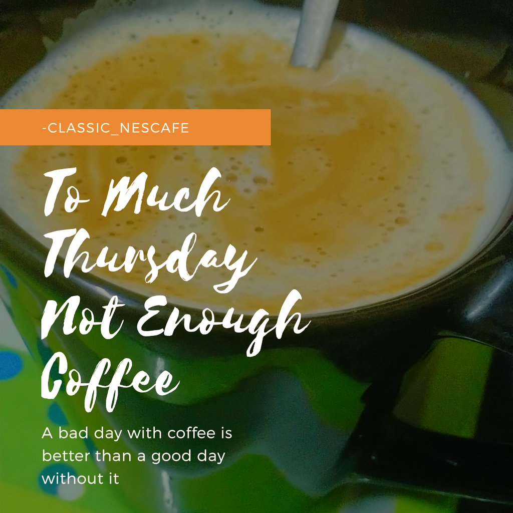 Coffee gives the freshness in the stress. #MotivationalQuotes #coffeeandvanilla #nescafe3ue1arada #ThursdayThoughts #thursdayvibes #affirmation #5amwritersclub https://t.co/J83R4p9jSg