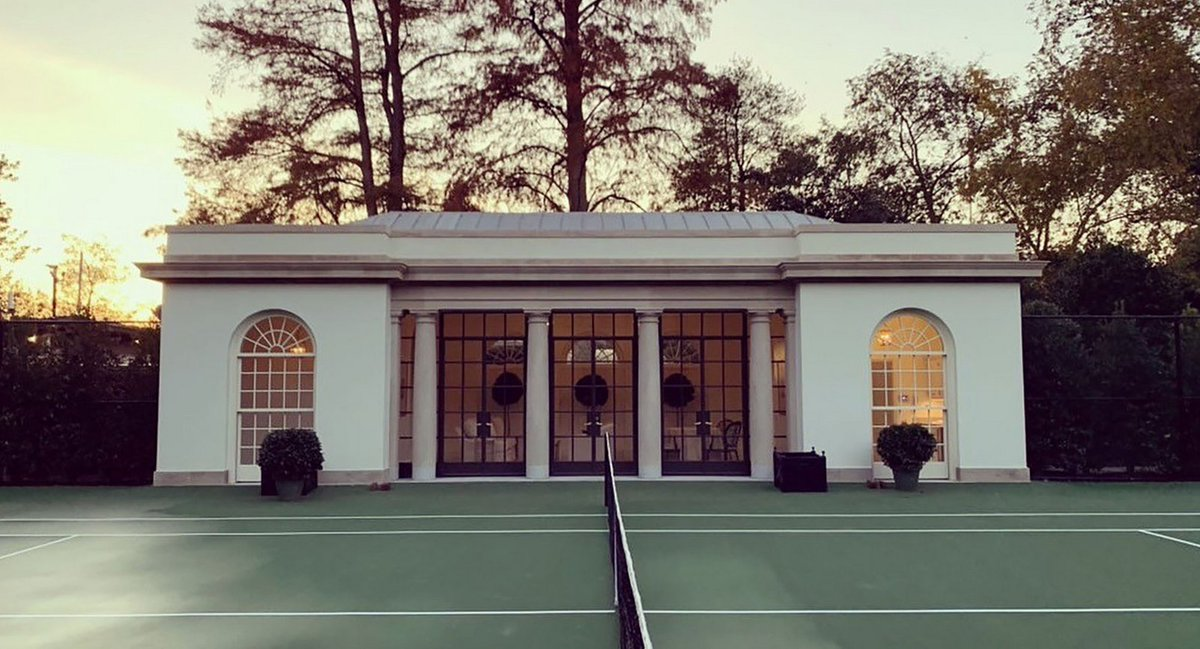 What's going to happen to the tennis pavilion? #tennis #InaugurationDay #Inauguration