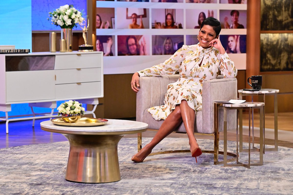 What would your weekdays be without new episodes of the #TamronHallShow? Tune in weekdays at 6am ☀️