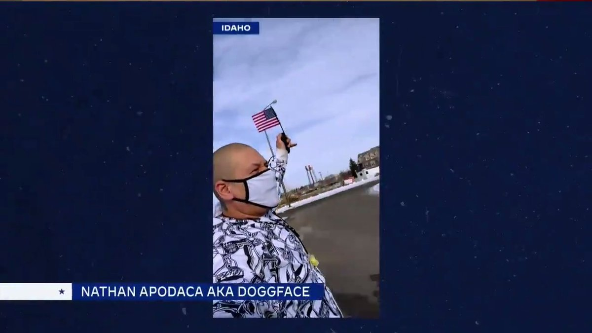 """We are feeling the good vibes from this """"Dreams"""" skateboarding segment featuring @Doggface208 (aka Nathan Apodaca) and Americans across the country! 🛹   #Inauguration2021"""