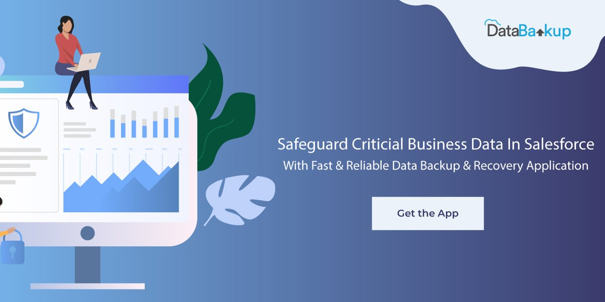 Protect your important business data by creating a safe and secure data backup of it using DataBakup, a robust backup and recovery application designed especially for #Salesforce users. Try out the app today!  #DataBackup #DataManagement #AppExchange