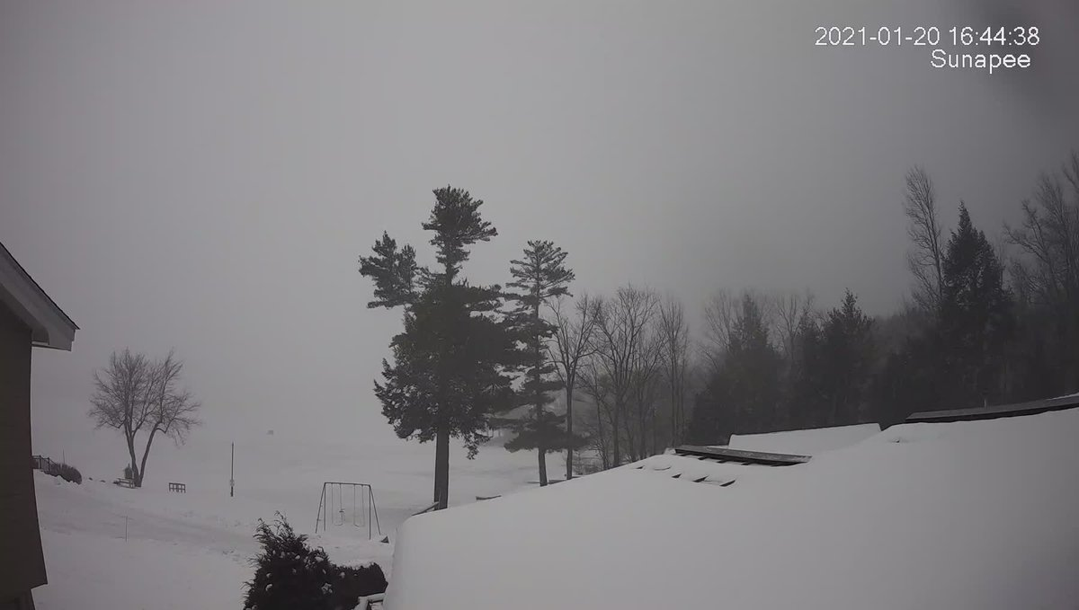 20 Jan 2021—Good night #Sunapee. The sunset tonight was at 4:44 PM. The forecast low for tonight is 16ºF #NewHampshire #weather #NHwx https://t.co/N8WAUL9AA6
