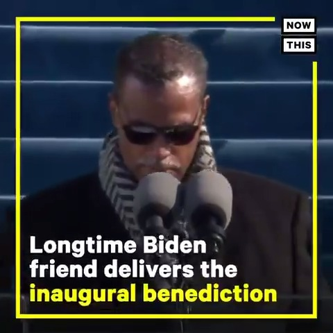 Pres. Biden's longtime friend Rev. Silvester Beaman delivered the inaugural benediction: 'We will make friends of our enemies. People, your people, shall no longer raise up weapons against one another. We will rather use our resources for the national good'