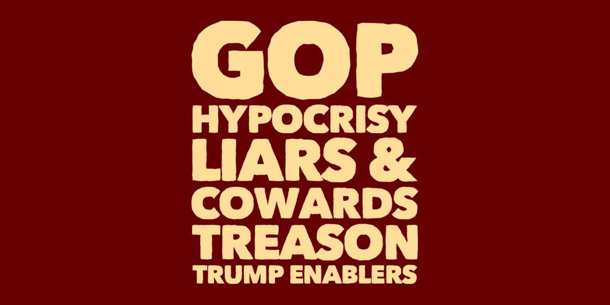 @senatemajldr REVISIONIST LIARS.  #GOPComplicitTraitors #GOPTraitorsToDemocracy #GOPBetrayedAmerica #GOPHypocrisy   I think the #Republican Spaced Rangers currently have ZERO CREDIBILITY. 👎✅💯