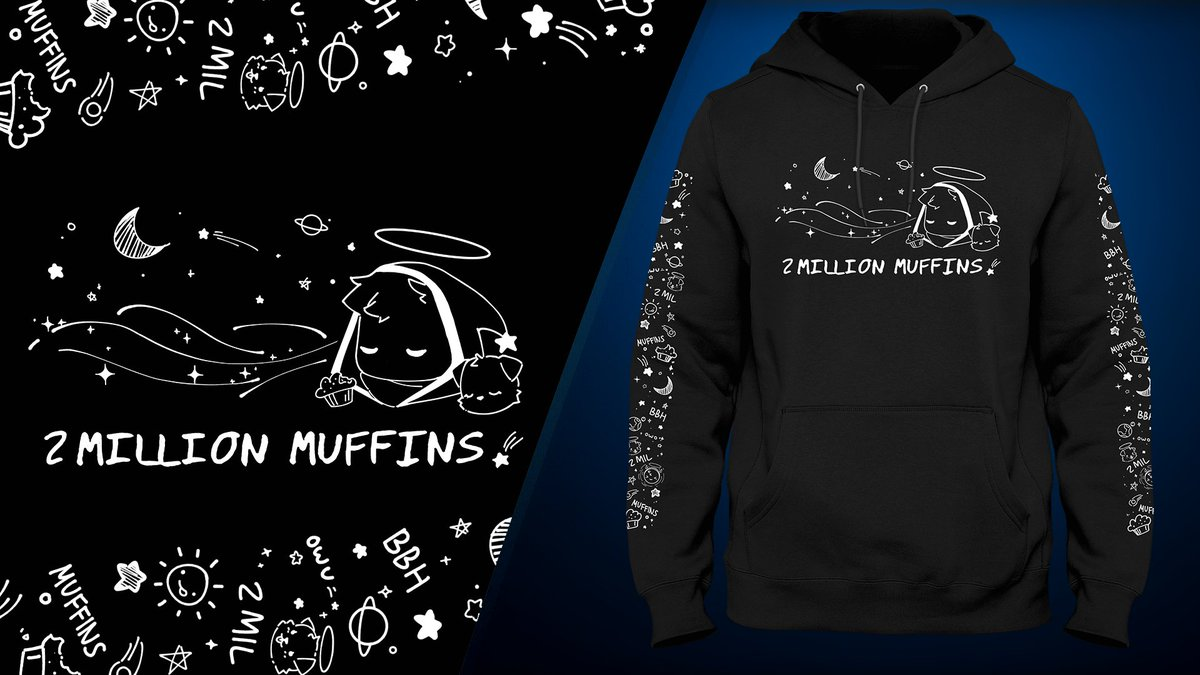 Here are some more pics of the 2 mill design! I'm so glad you guys love it!  Who do you guys think wrote the 2 Million Muffins by the way? :3