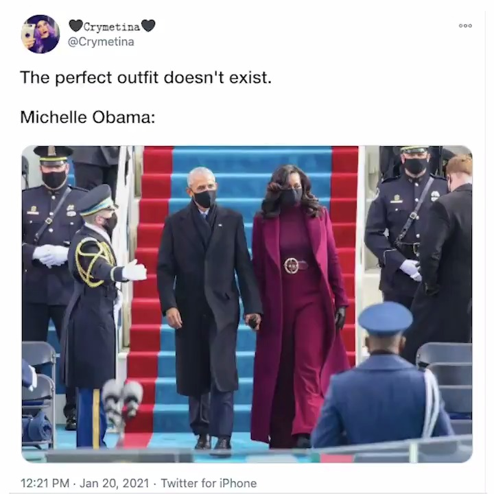 From Michelle Obama to Bernie Sanders, the #InaugurationDay coats were the definition of fashion goals 🧥 #TheBuzz
