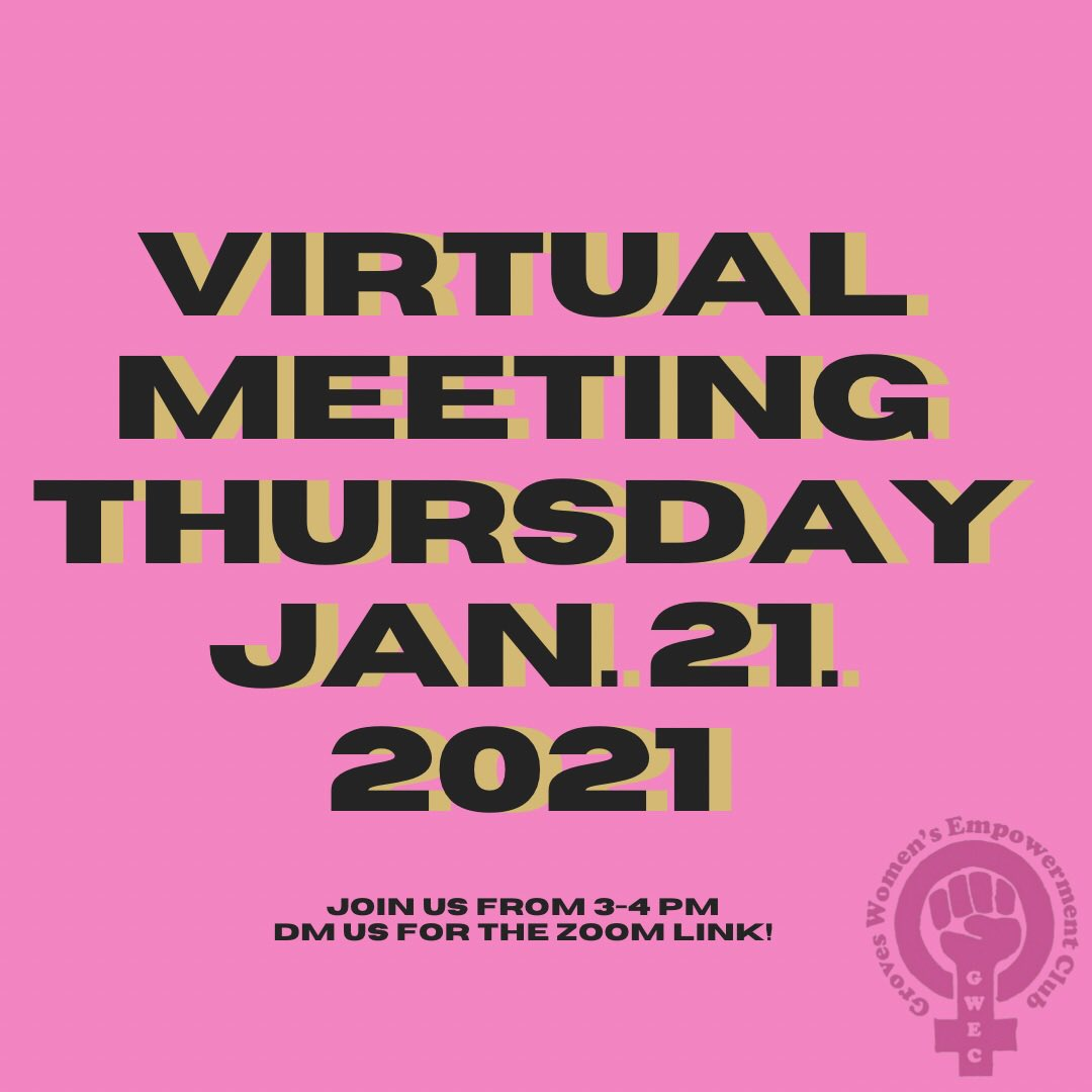 """Our next meeting is tomorrow at 3-4 pm! We will be finishing """"I Am Greta, and everyone is welcome! • • • • • #womenempowerment #womensupportingwomen #girlpower #selflove  #womenempoweringwomen #bossbabe #girlboss #womeninspiringwomen  #empowerment #empoweringwomen #feminist"""