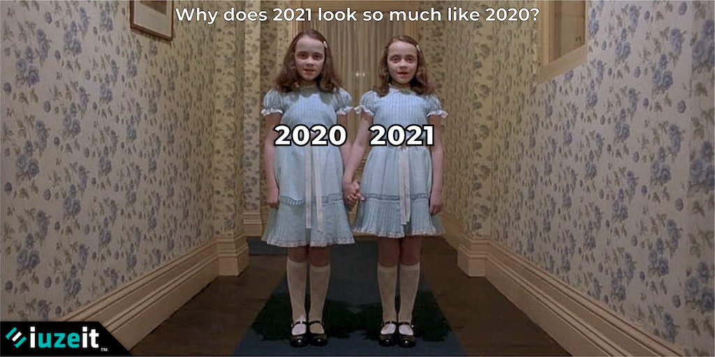 What if 2020 was just a movie trailer for 2021? #covid19 #iuzeit #coronavirus #pandemic https://t.co/q06gtv6Fri