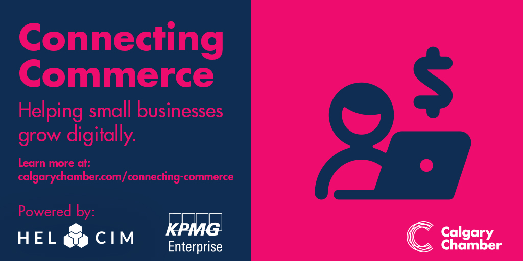 We are bringing small businesses online through a unique partnership with @KPMG_Canada and @Helcim, building online stores for local businesses. Sign up for Connecting Commerce now!   #SBWYYC #KPMGinYYC #Smallbusiness #Ecommerce https://t.co/SEtnsqFFJS https://t.co/wBnefADnVg