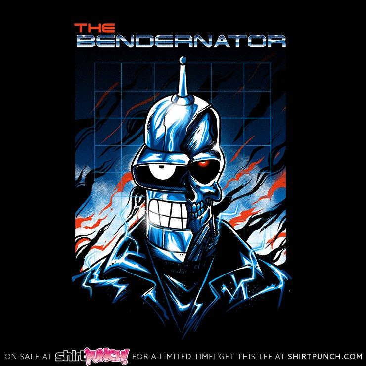 Bendernator - Today at https://t.co/StAJzL2pzl! https://t.co/iTJ3q9SZ72