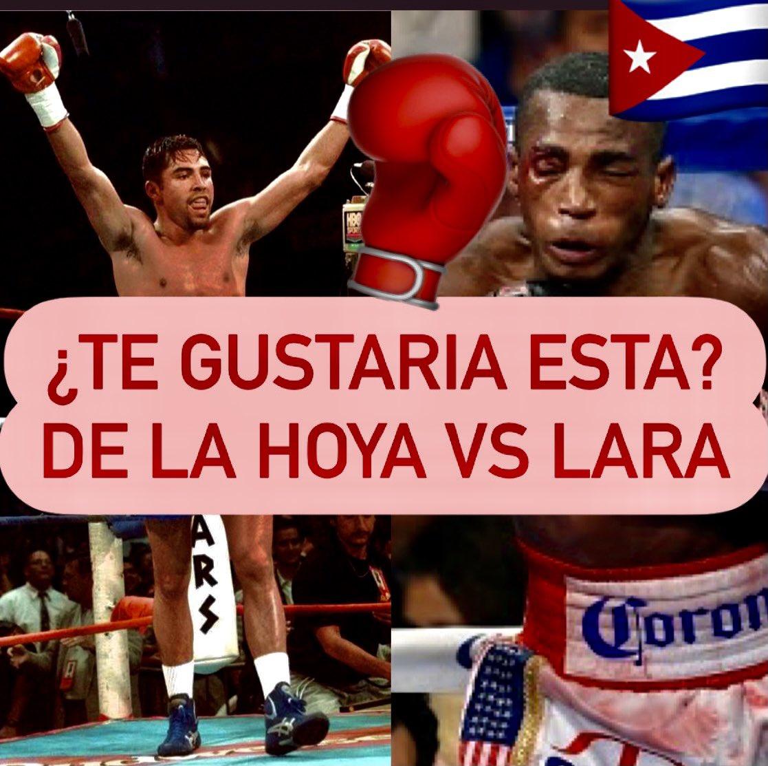 ¿ERISLANDY LARA vs OSCAR DE LA HOYA? OSCAR piensa que aún puede dar guerra en las 154 libras. 🥊🇨🇺🇲🇽 AQUÍ lo hablamos 👉🏾👉🏾 https://t.co/ZFoQgPXnoL 🤏🏿🤏🏿 #Boxeo #Miami #boxeocubano #boxeomexicano #GoldenBoy #OscarDeLaHoya #Boxing #elcafédebeto 🥊🥊 https://t.co/Z9F9eDHTlO