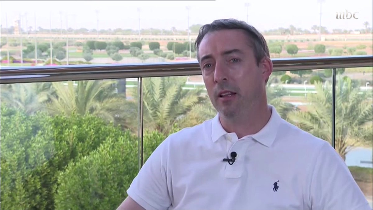 رايان مدير الاستراتيجية والسباقات الدولية يتحدث عن أخر الاستعدادات لأغلى سباقات الخيول في العالم كأس السعودية 2021  @thesaudicup @thesaudicup_ar @frusiyaclub #كأس_السعودية  #صدى_الملاعب   تابعوا الحلقة كاملة على #ShahidVIP