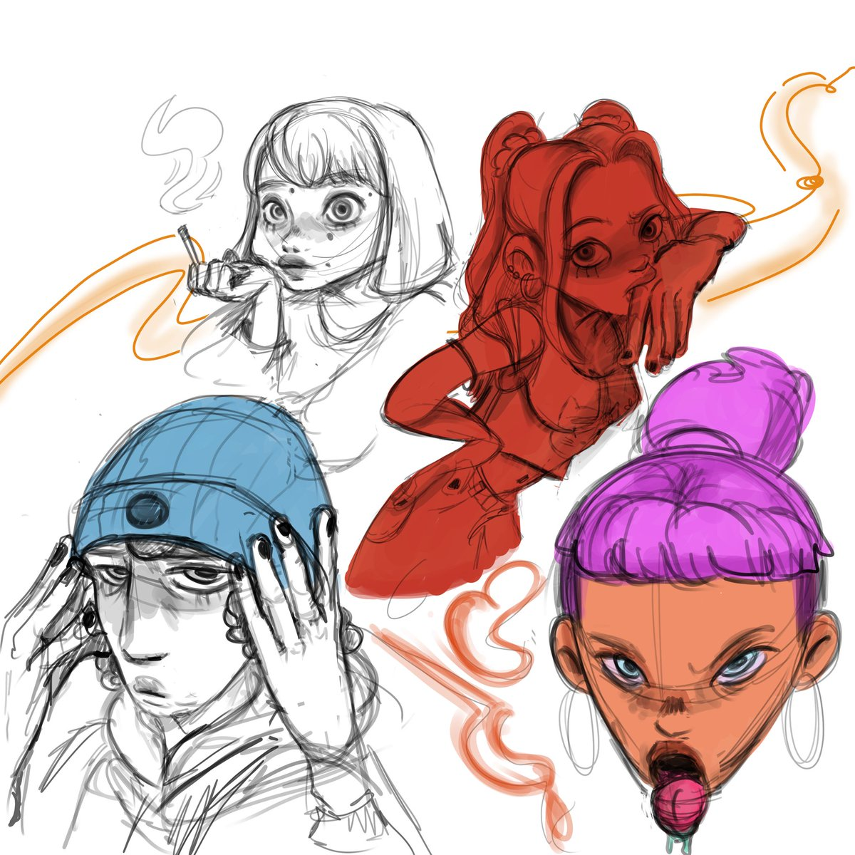 Sketchinnnnn!!  #animation #art #arte #Italy #characterart #sketch #sketchbook #conceptart #Colors #conceptartist #draw #drawing https://t.co/8bjyWP74nJ