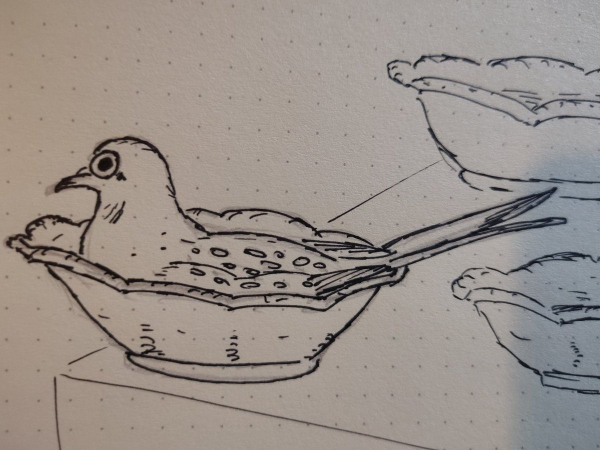 @pokimanelol @CashApp This lady dove decided to reside in the cutlery of my Grandma #diamonddove #birdlive #CashAppPoki