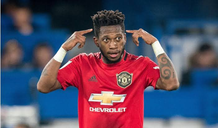 Fred is a beast on that midfield and his eye for picking forward passes has improved. #FULMUN #MUFC