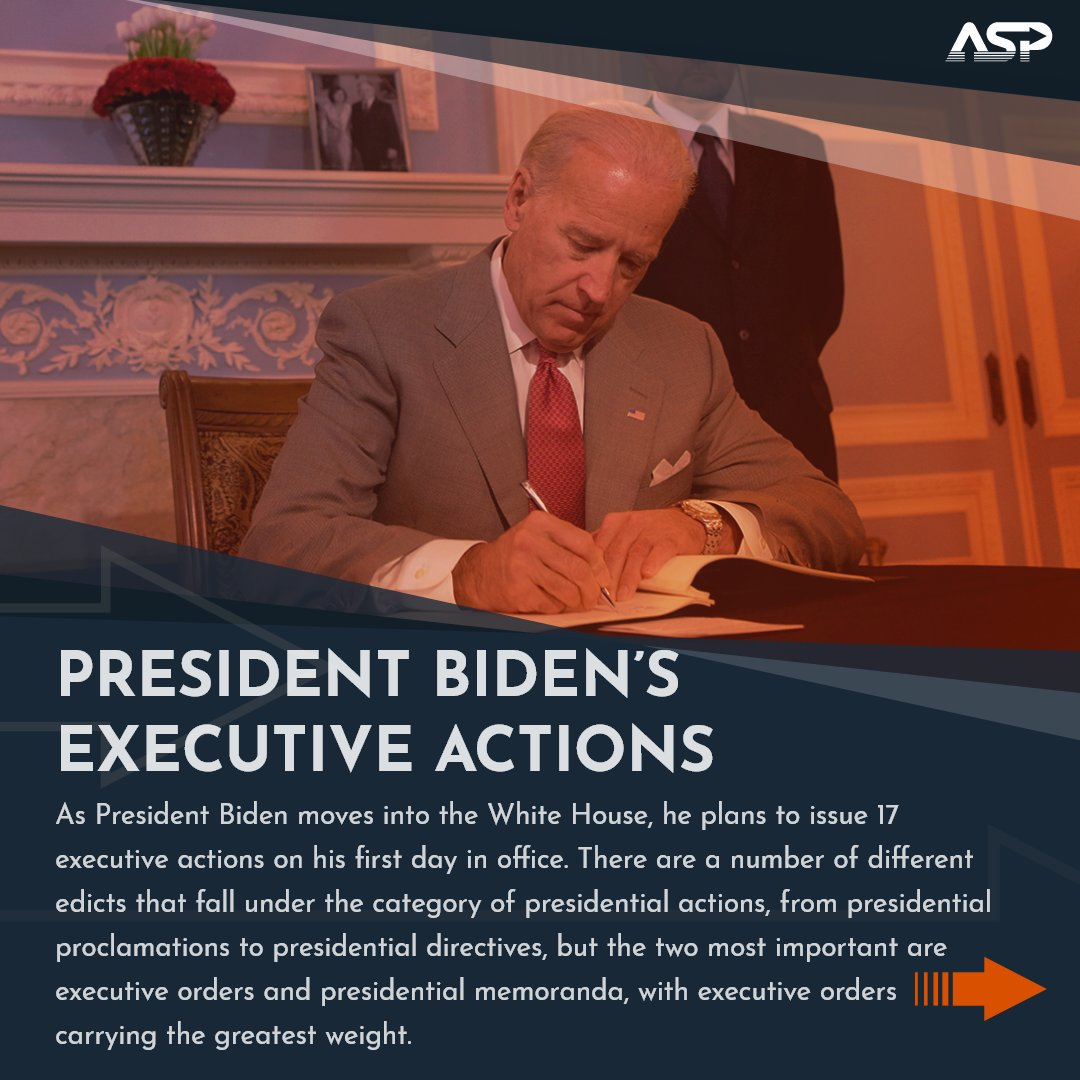 President Biden will sign a historic number of executive actions to begin his work fulfilling his promises to the American people. Learn more about executive orders, their history, and what Biden's actions will be in the gallery below 👇