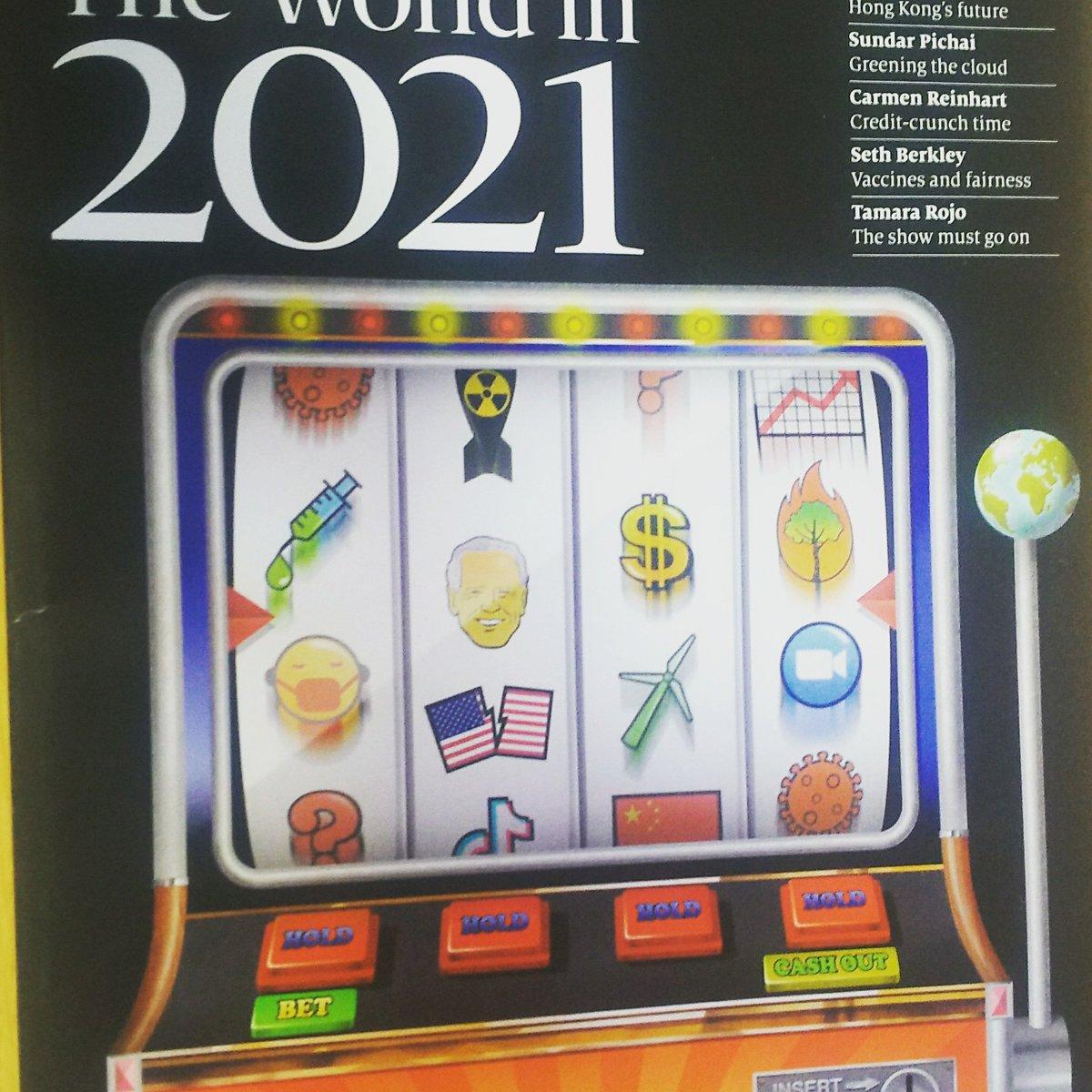 この雑誌は本当に読む楽しみがあります! #TheEconomist #TheWorldIn2021