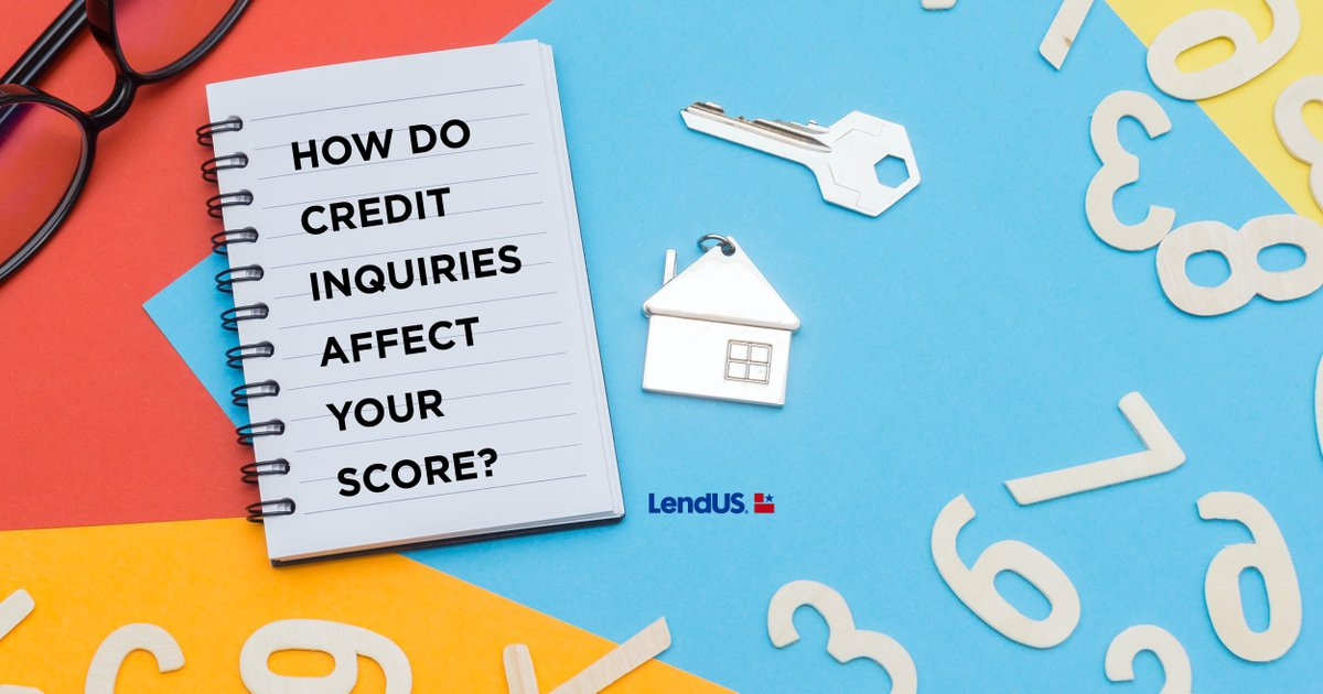 How much are credit inquiries affecting your credit score? Each time you check your credit, your credit score takes a hit and may start to lower. Feel free to reach out to one of our trusted Loan Advisors to get details. #lendusfamily #creditscore #creditinquiries #mortgages https://t.co/hfKB8TOtMn