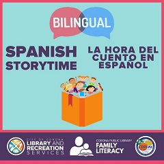 Replying to @coronalibrary Jan 19 Join us virtually for stories, songs, and a craft in both English and Spanish on the first and third Tuesday every month! When: 1/5 & 1/19 Where:  #LaRSWhereUR #CoronaPublicLibrary #bilingualstorytime #CalRecycle
