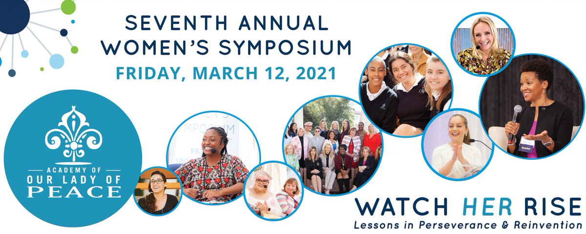@OLPnews 7th Annual Women's Symposium is back! Join us virtually on March 12. This annual event brings together top women leaders to share their insights and pathways to success with our #students and #community. https://t.co/gJROOrHw0a #proudmediapartner https://t.co/2B15iKsXQR
