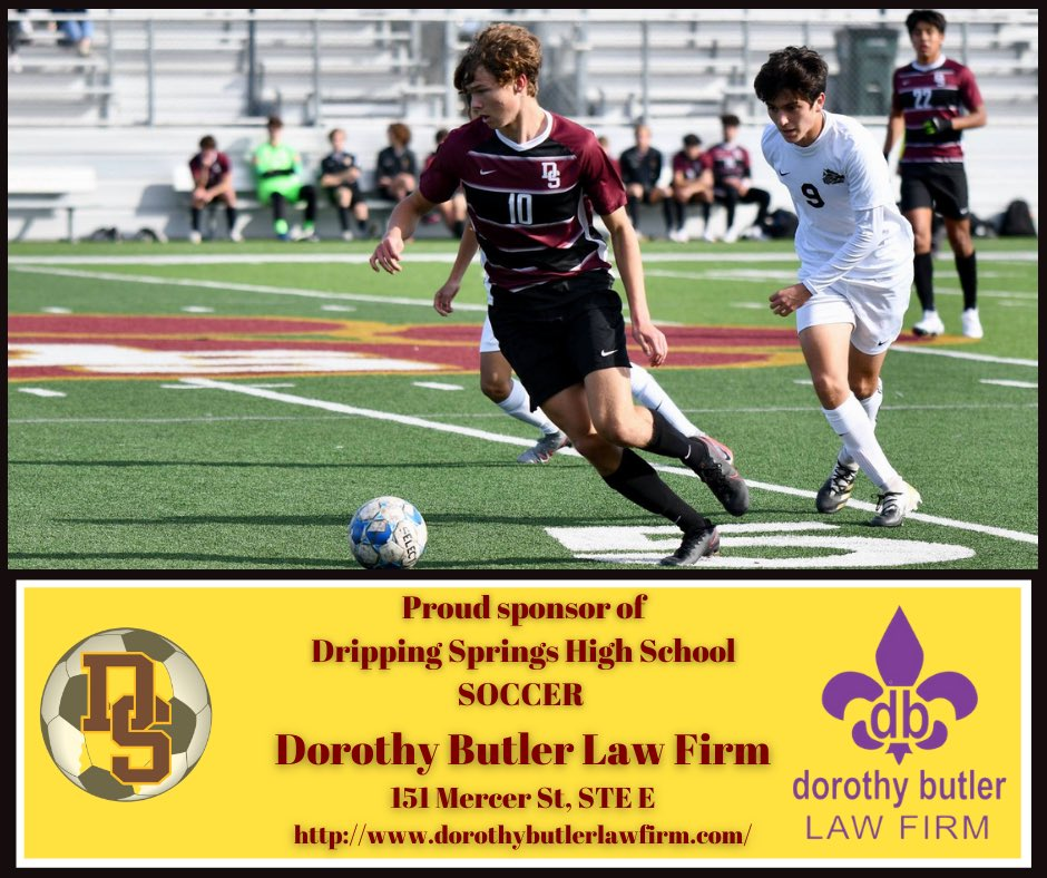 @DSSoccer_Boys  and @DSWomensSoccer would  like to send a huge thank you to Dorothy Butler Law Firm for their support of the program!  Thank you! #sponsor #Thanks #soccer