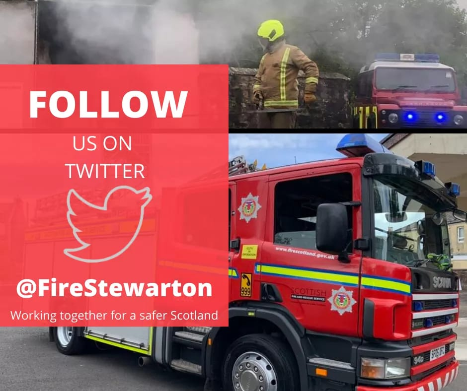 Huge warm welcome to our new account followers from across our local communities. Thanks for taking the time to engage on the local Facebook pages and for following Stewarton Community Fire Station. We look forward to connecting with you. #community #staysafe https://t.co/QgJ3eDbur6