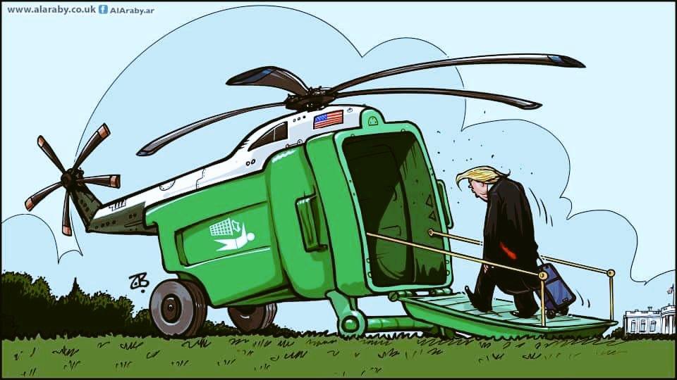 ايران: ظريف: #ترامب و #بومبيو وشركاؤهما سقطوا في #مزبلة التاريخ  #Iran: Zarif: #Trump, #Pompeo and their partners have fallen into the #dustbin of history