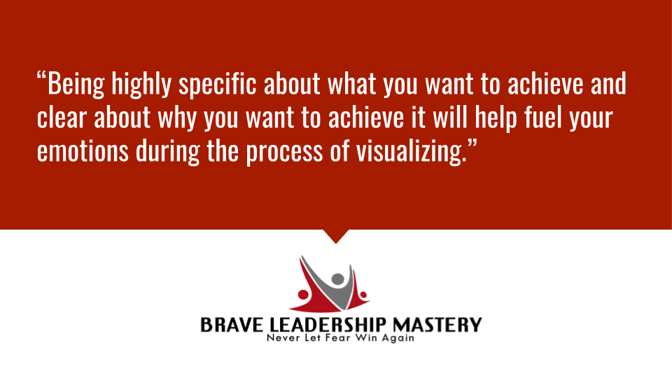 """""""Being highly specific about what you want to achieve and clear about why you want to achieve it will help fuel your emotions during the process of visualizing."""" https://t.co/F3flAAVjBF #business #employeeexperience https://t.co/4NUacVjEDK"""