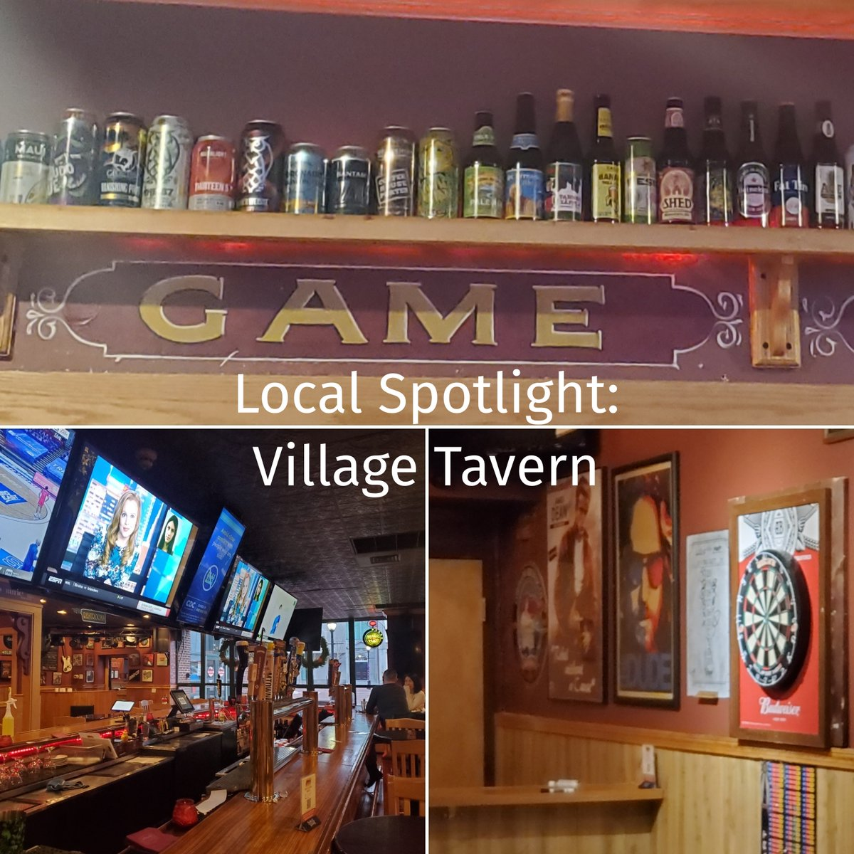 Need a spot to grab a wide variety of draft and bottled beers, catch a game, or throw some darts? Give the Ingemi brothers some support by stopping by Village Tavern! . #doyougulu #staylocalsalem #eatlocal #dinelocal #salemma #salemmarestaurants #localspotlight #salemmabars