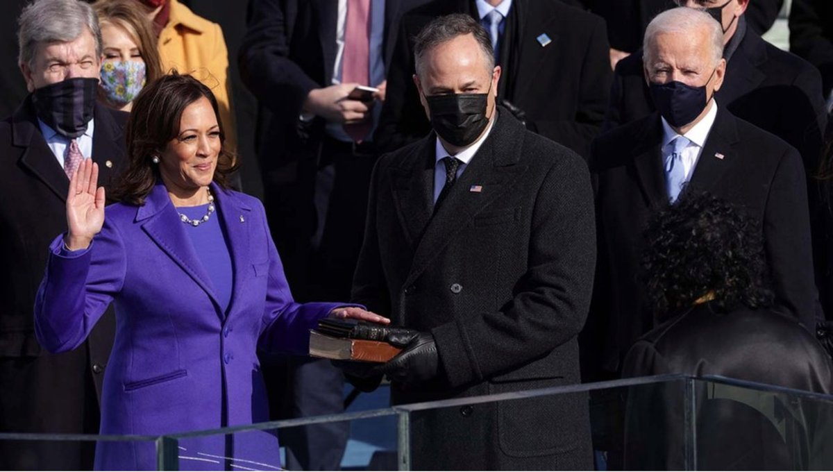 Congratulations, Madam Vice President Kamala Harris, on making history. @VP