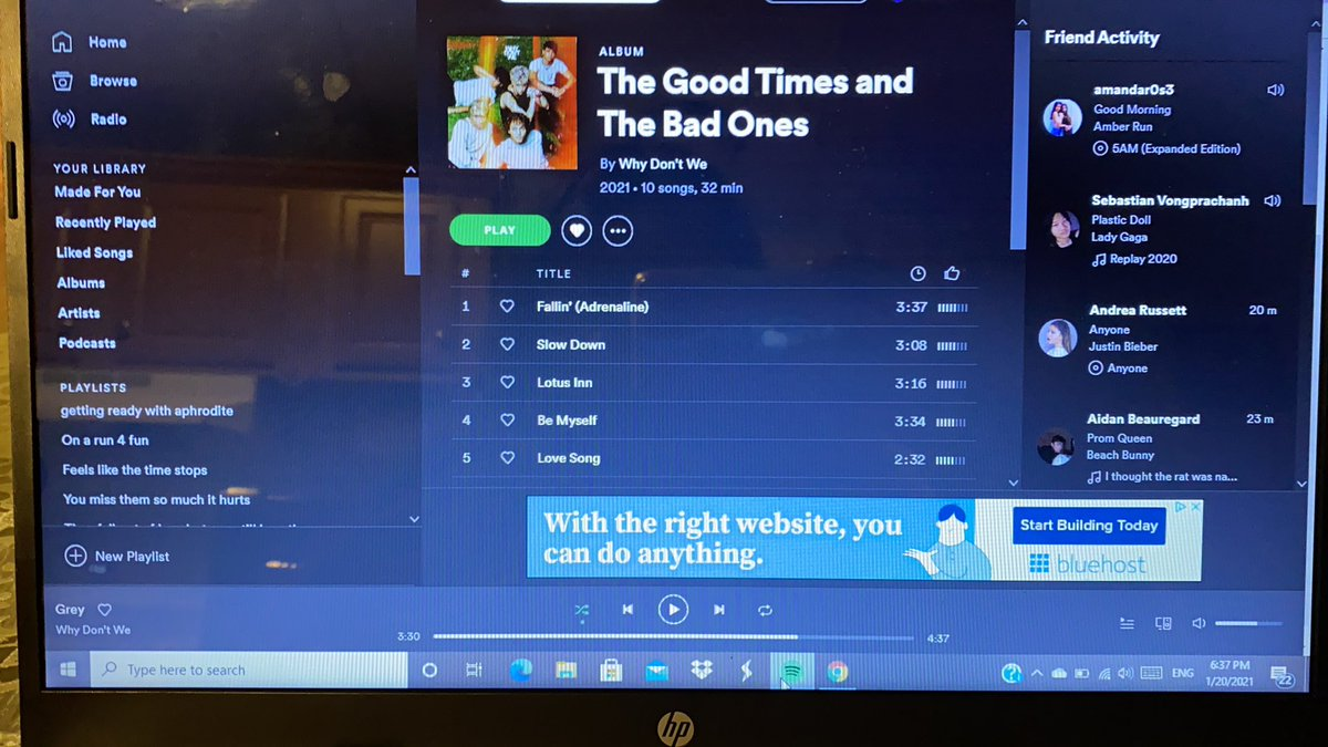 Still streaming #WDWListeningParty #TGTATBOSTREAMPARTY