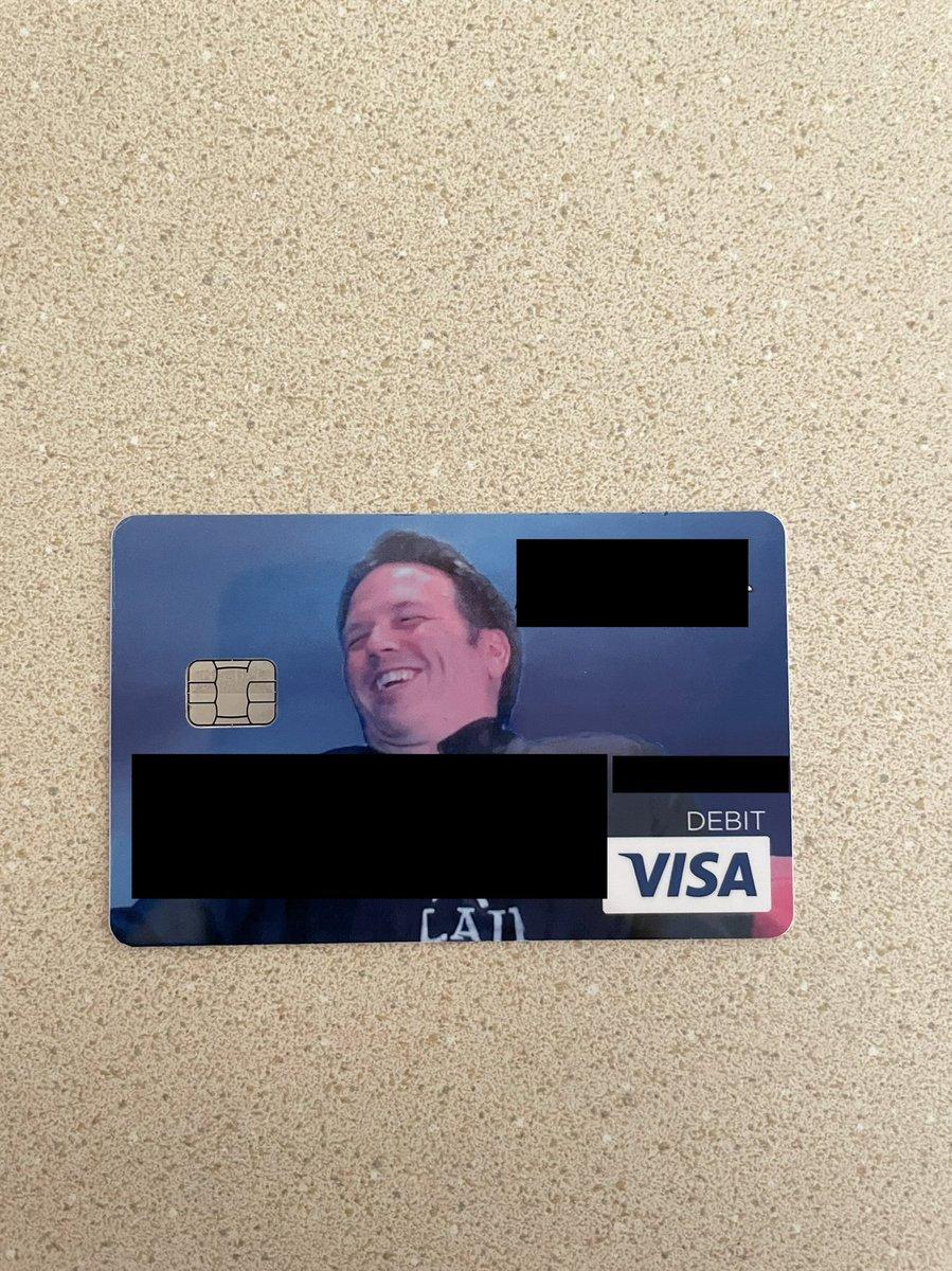 My new debit card has arrived! @xbox @XboxGamePass @XboxP3 #xbox #PowerYourDreams