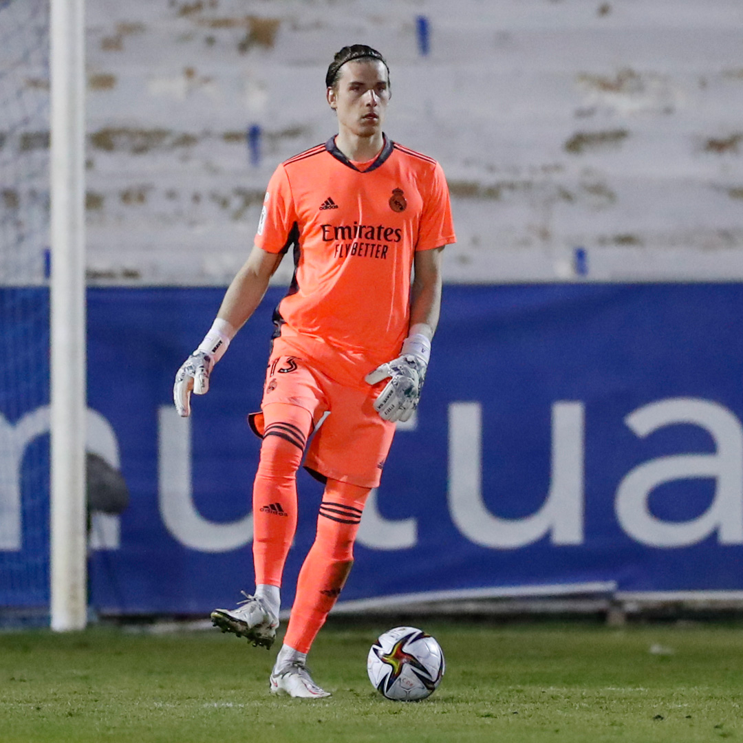 ☝️🌱⚽ @AndreyLunin13 y @ChustVictor debutaron en partido oficial con el @RealMadrid frente al Alcoyano. #RealFootball | #HalaMadrid  #NewRomantics #HalaMadrid