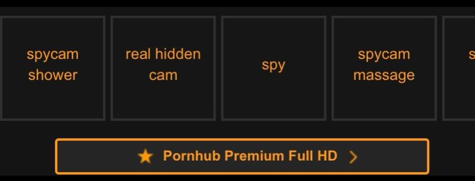 """1 pic. Pornhub promoted and suggested to consumers the following searches:  """"spycam shower"""" """"real hidden"""