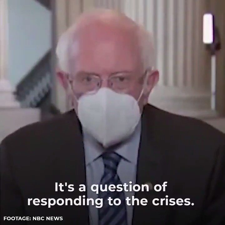 """I don't know what """"meeting in the middle"""" means when scientists say we only have a few years to address climate change or face irreparable harm.   Of course I want to work with Republicans—but we have got to aggressively respond to the enormous crises facing working families."""