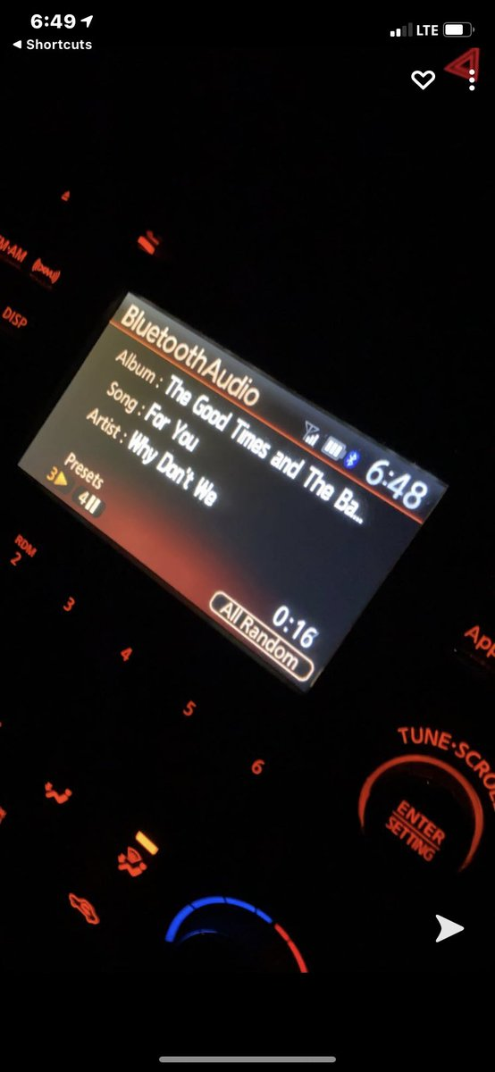 best song for the car!! #WDWListeningParty