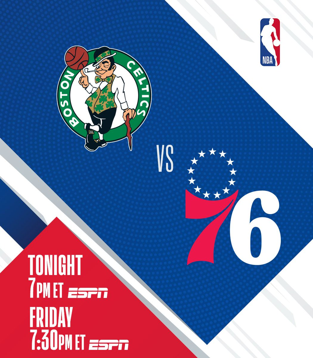 TONIGHT on ESPN:  ▪️ 1st of 2 back-to-back BOS/PHI matchups ▪️ Oladipo (32 PTS in HOU debut) vs. CP, Book, PHX  @celtics/@sixers, 7:00 PM ET @Suns/@HoustonRockets, 9:30 PM ET https://t.co/UOVwbcDNxQ