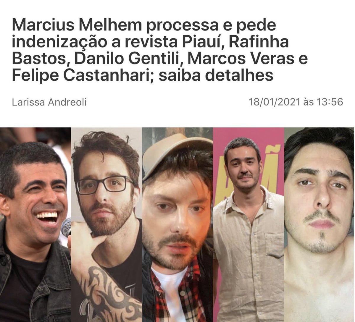 O poder de Marcius Melhiem não tem limite. Quem consegue colocar Rafinha Bastos e Danilo Gentili lado a lado, consegue qualquer coisa.