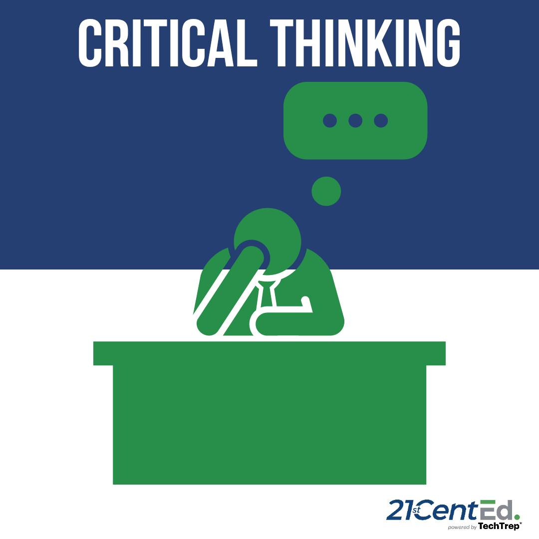 #CriticalThinking doesn't mean the answer will come right away. You may go through several options before the right one appears. However, every error is something learned! * * * #21stCentEd #STEM #creativity #communication #collaboration #womeninstem #steminist #education #kids