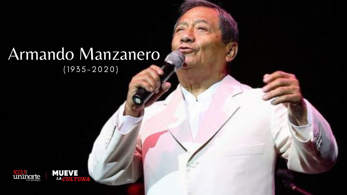Al ritmo de las interpretaciones de varios de sus colegas mañana #jueves en #ElLadoDeLosArtistas Rendiremos homenaje al compositor, cantante, actor, músico y productor mexicano #ArmandoManzanero 🎧--->🕖7:00p.m.  #CaribeColombiano 📻 103.1F.M. y #Online🌐.