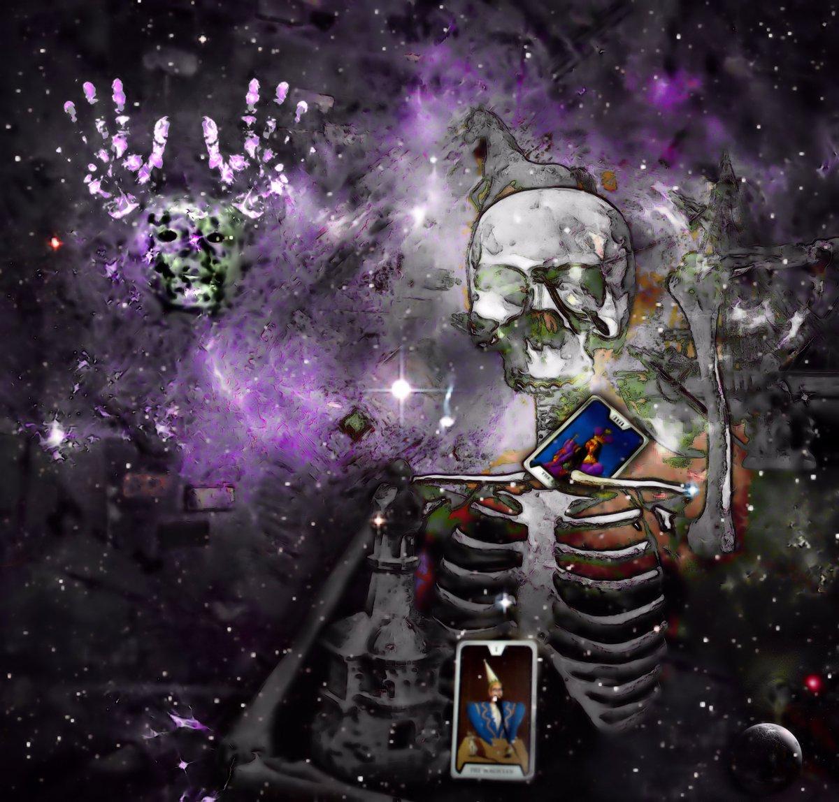Transcendence (The Skull Dancers)   Grey Cross Studios #art #digitalart #contemporaryArt #skulls #skeletons #death #afterlife #surrealism #alternateuniverse #otherworlds #multiverse #parallelworld #scifi #fantasy #fantasyart